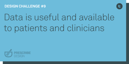 data is useful and available to patients and physicians