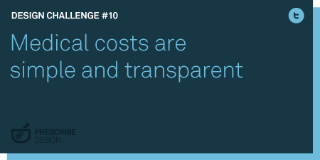 Medical costs are simple and transparent